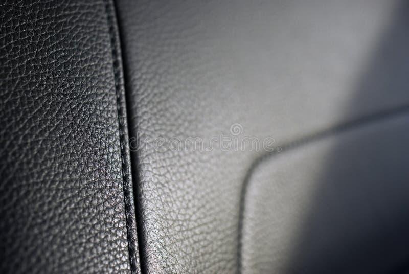 Textura de cuero del asiento foto de archivo libre de regalías