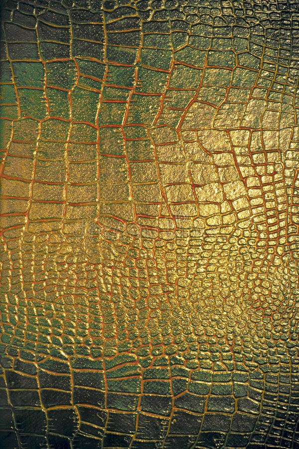 Textura de cuero del reptil imagen de archivo libre de regalías