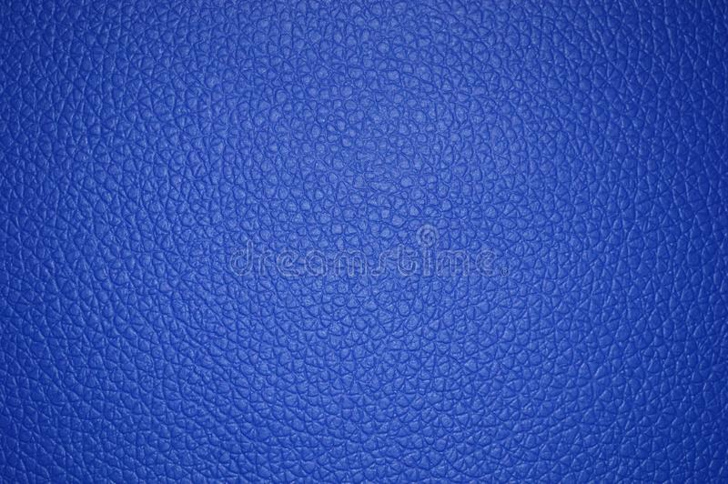 Textura de cuero hermosa azul como fondo ilustración del vector
