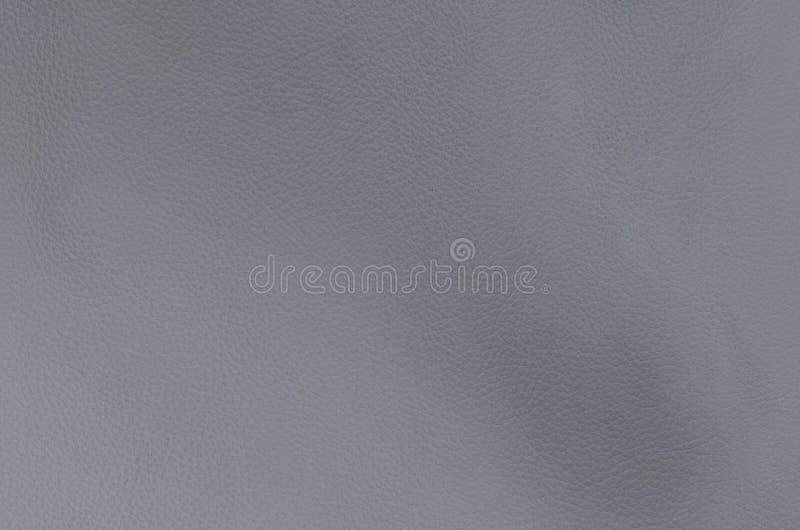 Textura de cuero natural, gris clara foto de archivo