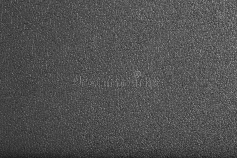 Textura de cuero negra foto de archivo