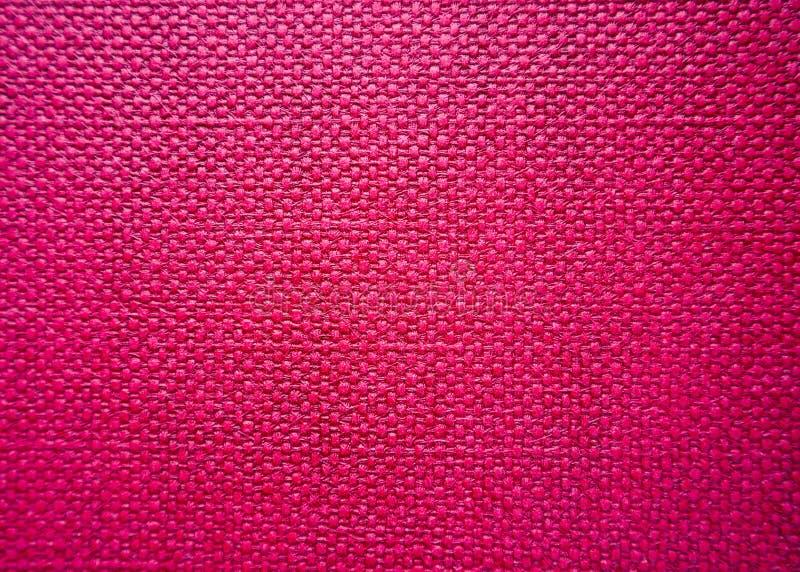 Textura de despedida cor-de-rosa detalhada de matéria têxtil da elevação Fundo para o projeto foto de stock