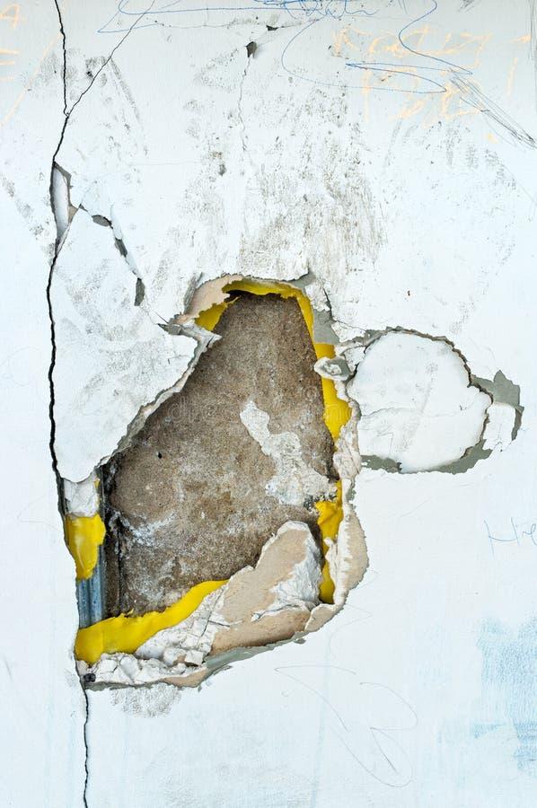 Textura de deterioração velha da parede imagem de stock