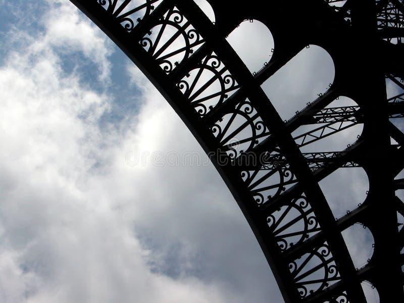 Textura de Eiffel foto de stock