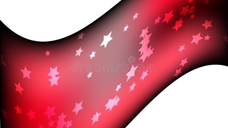 Textura de estrelas galácticas heterogêneos brilhantes coloridas coloridos mágicas cósmicas pentagonais festivas bonitas O fundo ilustração royalty free