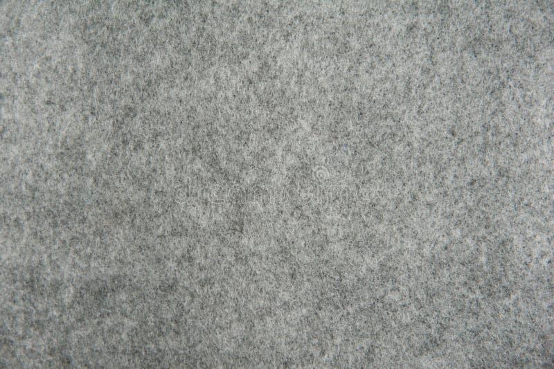 Textura de feltro do cinza fotos de stock royalty free