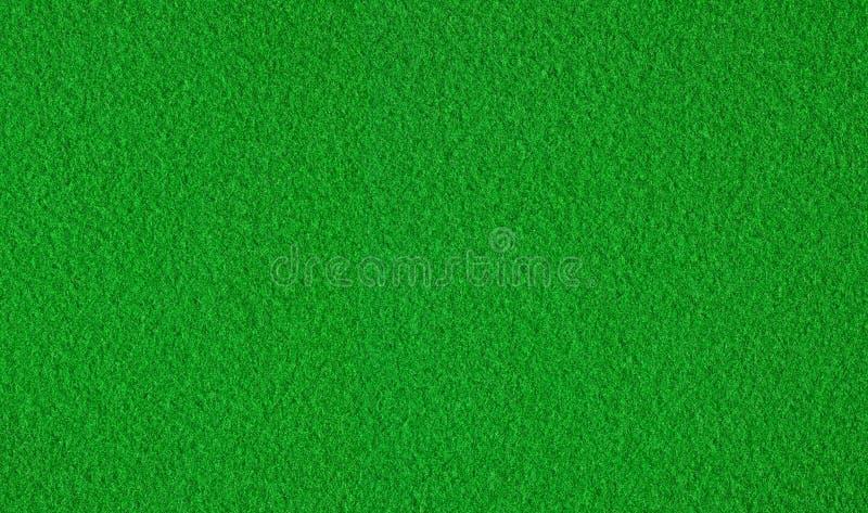 Textura De Feltro Do Verde Foto de Stock