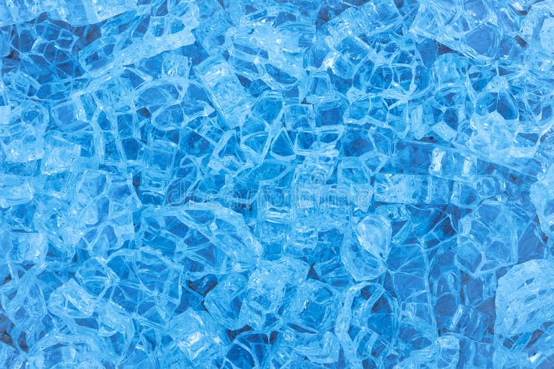 Textura de fragmentos del vidrio quebrado imagenes de archivo