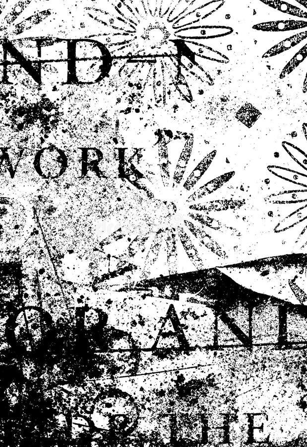 Textura de Grunge stock de ilustración