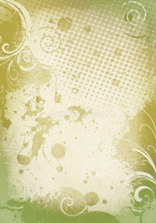 Textura de Grunge ilustração do vetor