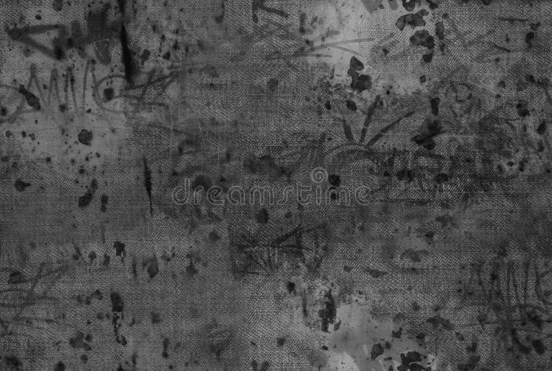 Textura de Grunge das calças de brim fotos de stock