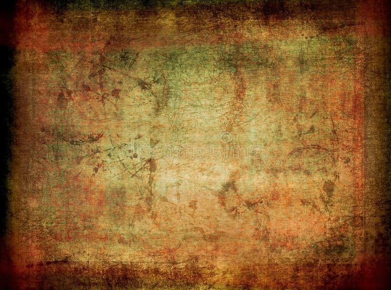 Textura de Grunge - fundo perfeito ilustração stock