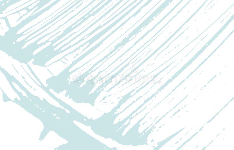 Textura de Grunge Rastro áspero azul de la desolación extraño stock de ilustración