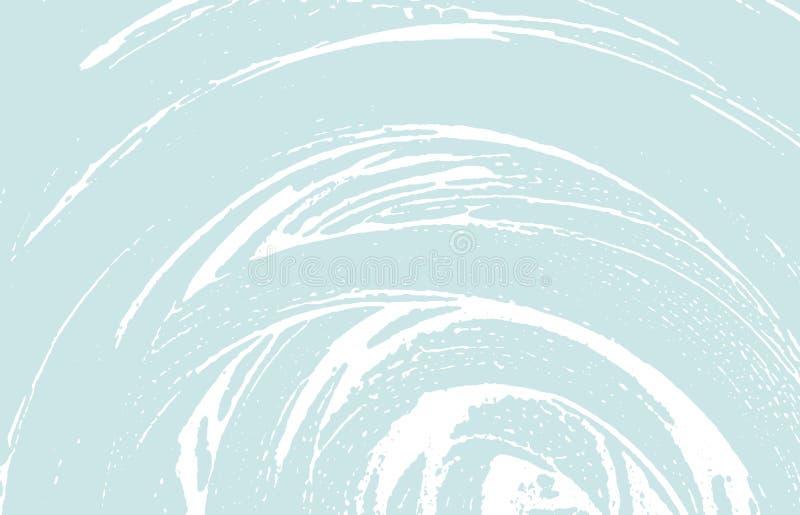Textura de Grunge Rastro áspero azul de la desolación Fondo creativo Textura sucia del grunge del ruido fascinación ilustración del vector