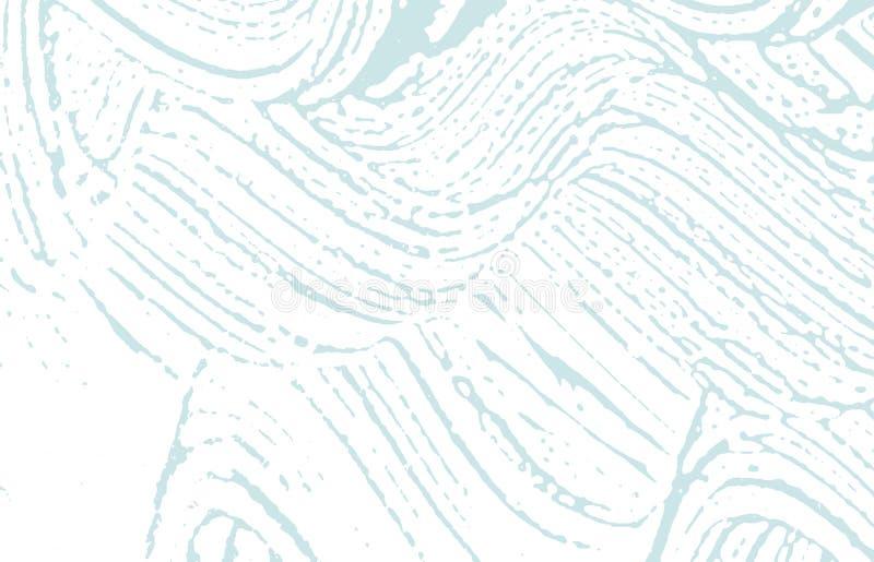 Textura de Grunge Rastro áspero azul de la desolación Fondo extraño Textura sucia del grunge del ruido Arti lindo libre illustration