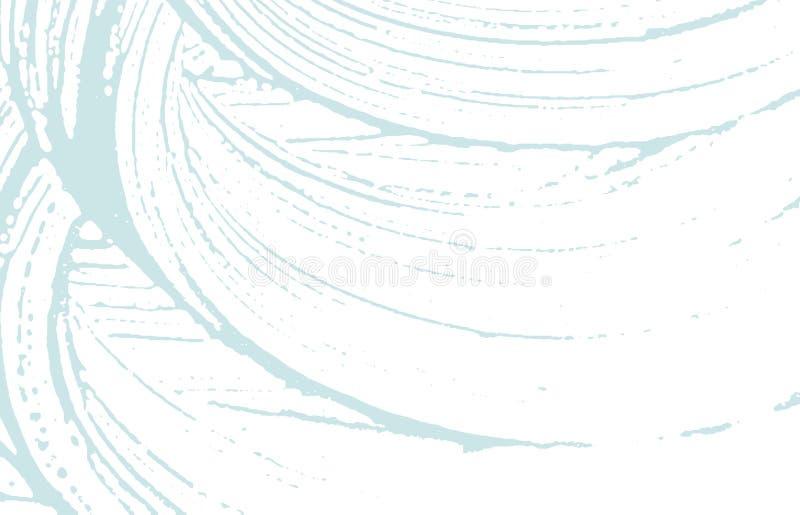 Textura de Grunge Rastro áspero azul de la desolación Fondo extraño Textura sucia del grunge del ruido Surprisin libre illustration