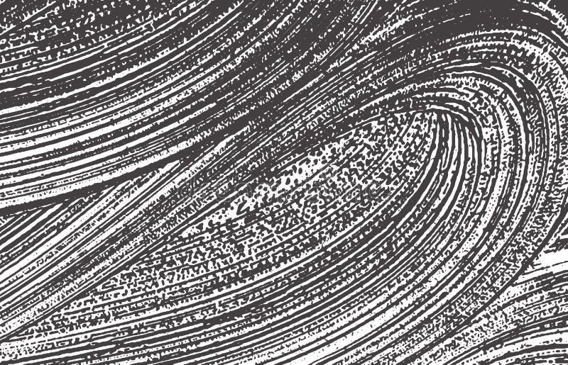Textura de Grunge Rastro áspero gris negro de la desolación Fondo de fascinación Textura sucia del grunge del ruido Cr ilustración del vector