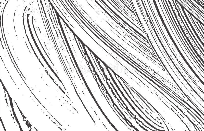 Textura de Grunge Rastro áspero gris negro de la desolación Fondo de fascinación Textura sucia del grunge del ruido Sea ilustración del vector