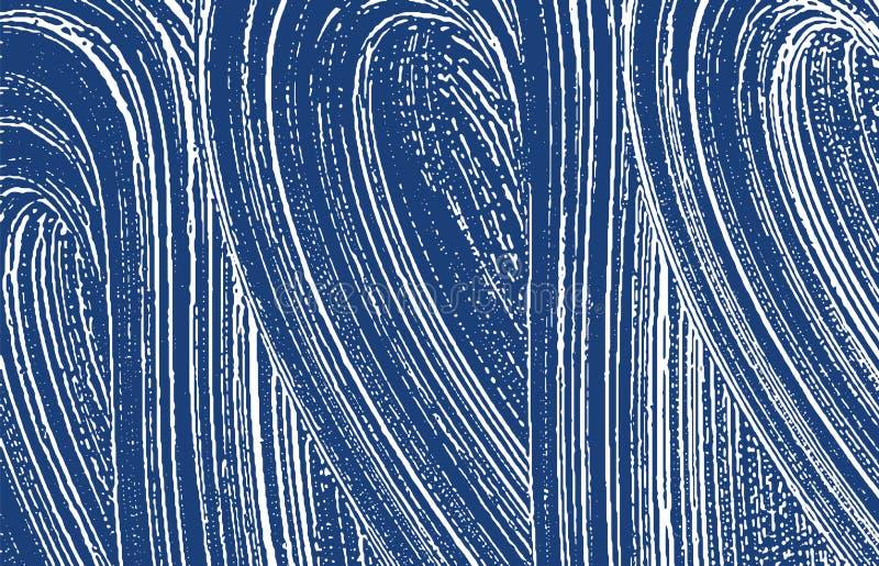Textura de Grunge Traço áspero do índigo da aflição Fundo excepcional Textura suja do grunge do ruído dec ilustração royalty free