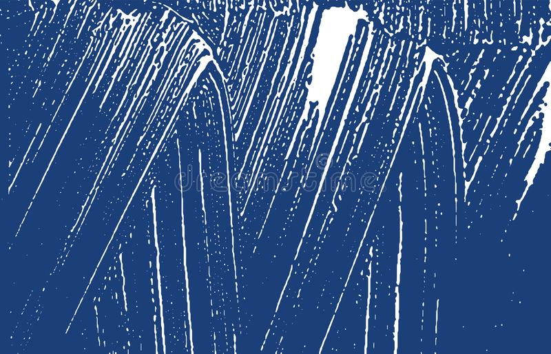 Textura de Grunge Traço áspero do índigo da aflição Fundo excepcional Textura suja do grunge do ruído Ori ilustração stock