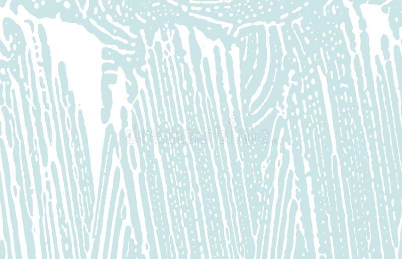 Textura de Grunge Tra?o ?spero azul da afli??o comely ilustração stock
