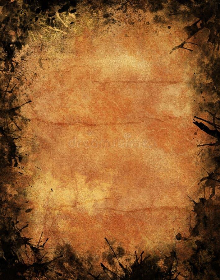 Textura de Halloween Grunge foto de stock