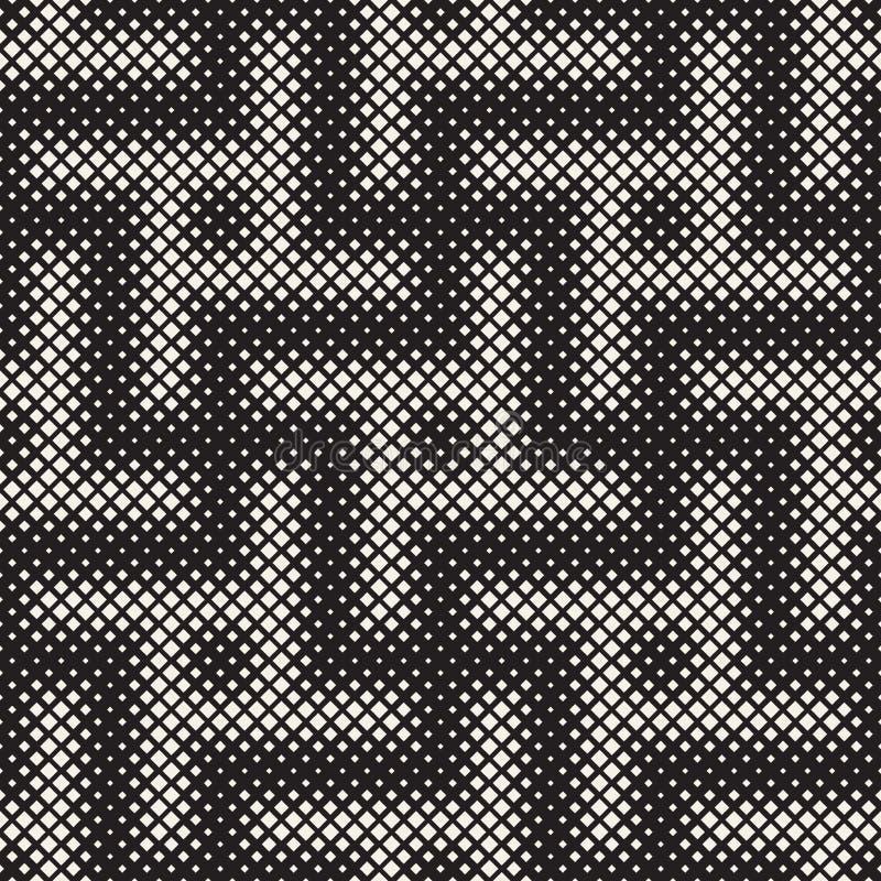 Textura de intervalo mínimo à moda Fundo abstrato infinito com formas aleatórias do tamanho Vector o teste padrão sem emenda ilustração stock