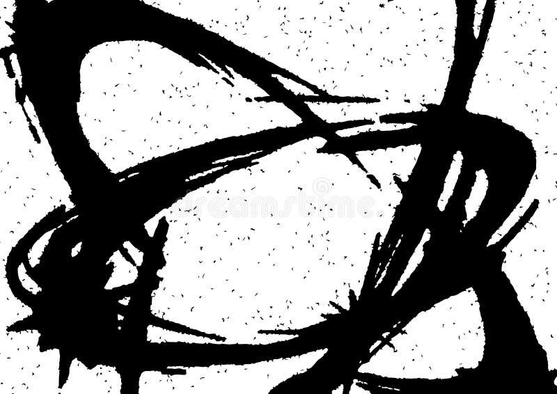 Textura de intervalo mínimo abstrata da folha de prova do brilho da estrela ilustração stock