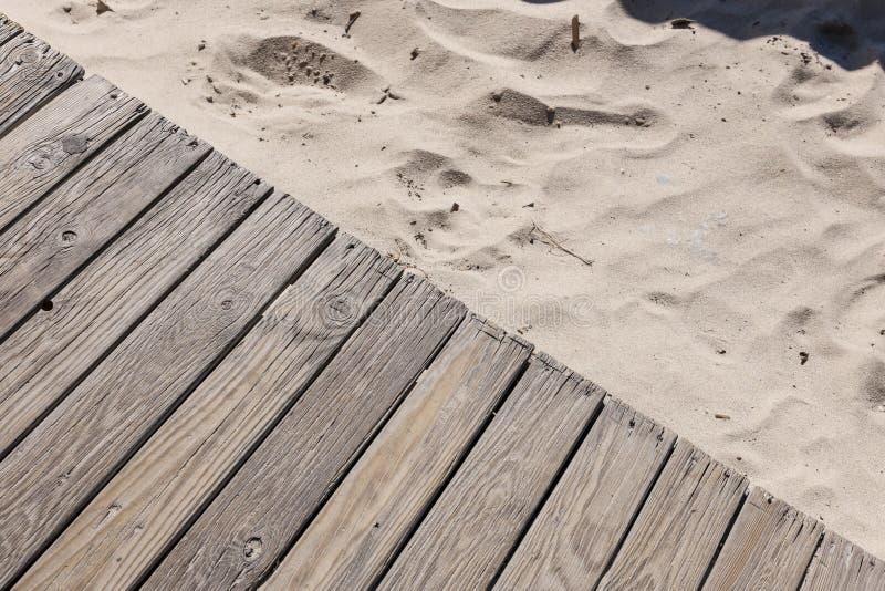 Textura de la arena y de la madera foto de archivo libre de regalías