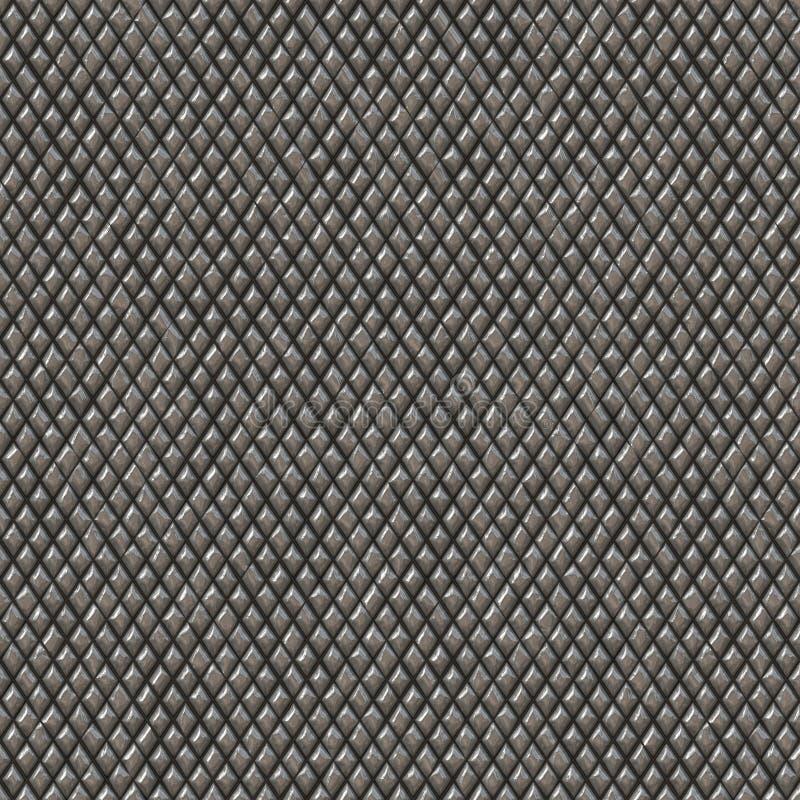 Textura de la armadura del metal ilustración del vector