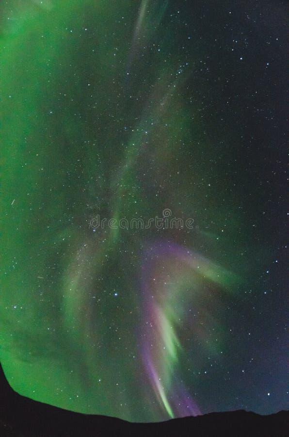 Textura de la aurora boreal foto de archivo libre de regalías