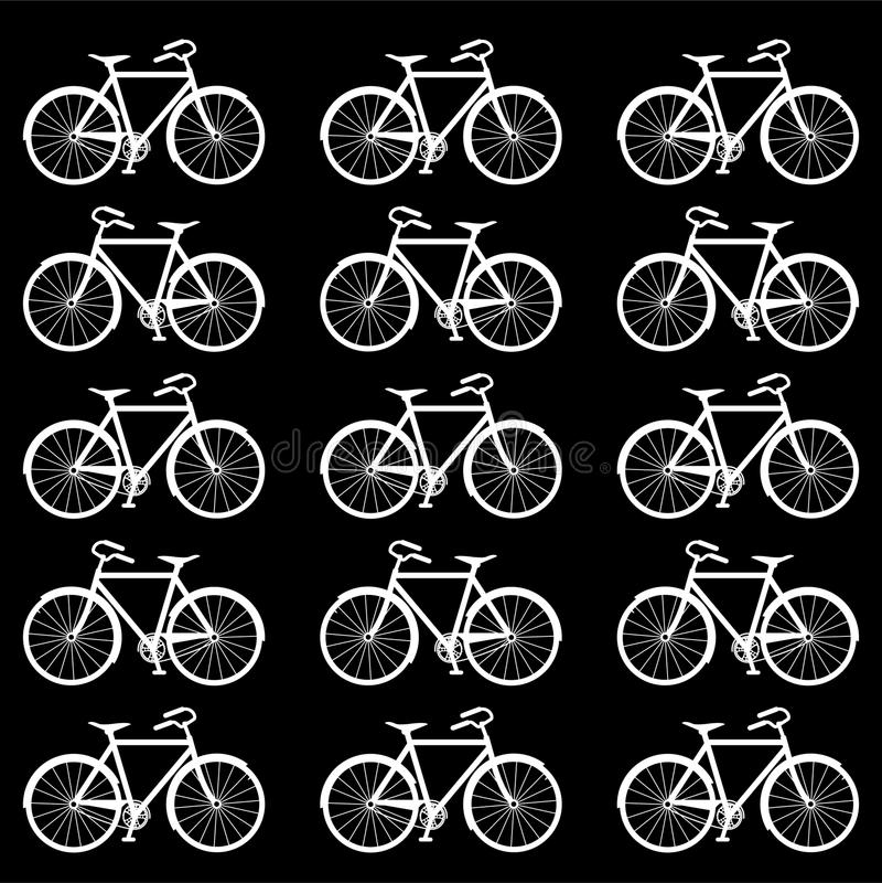Textura de la bici fotografía de archivo libre de regalías