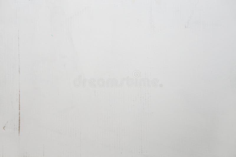 Textura de la cartulina, pintada en blanco Textura del Libro Blanco fotos de archivo