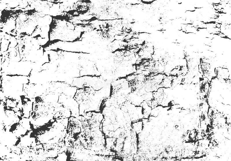 Textura de la corteza Fondo de madera de Grunge Capa apenada del vector libre illustration