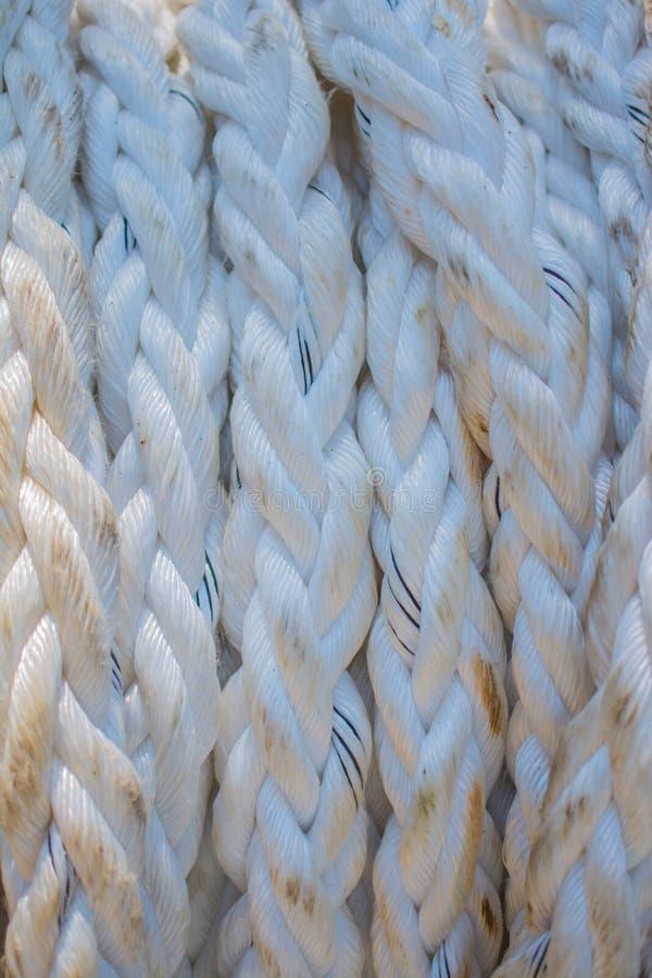 Textura de la cuerda imagen de archivo