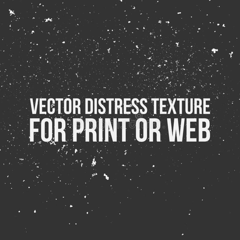 Textura de la desolación del vector para la impresión o el web libre illustration