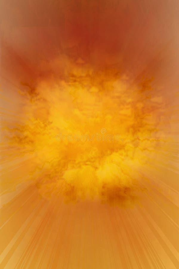 Textura de la explosión del fuego imágenes de archivo libres de regalías