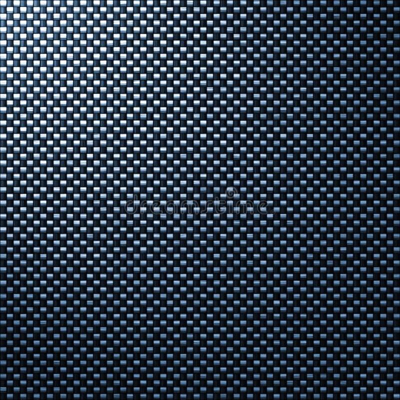 Textura de la fibra de la fibra del carbón stock de ilustración