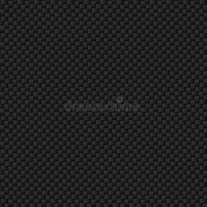 Textura de la fibra del carbón libre illustration