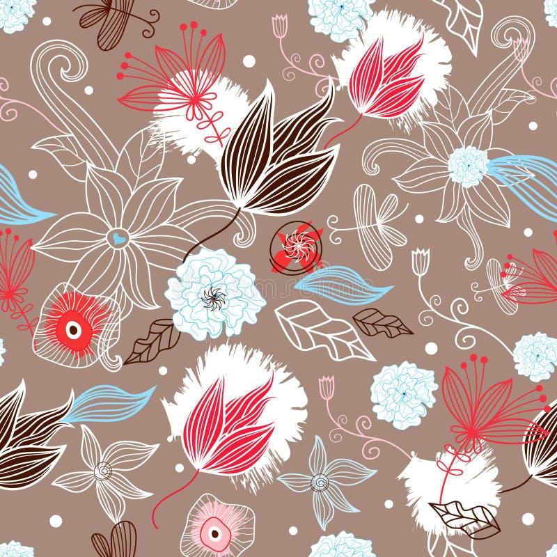 Textura de la flor stock de ilustración