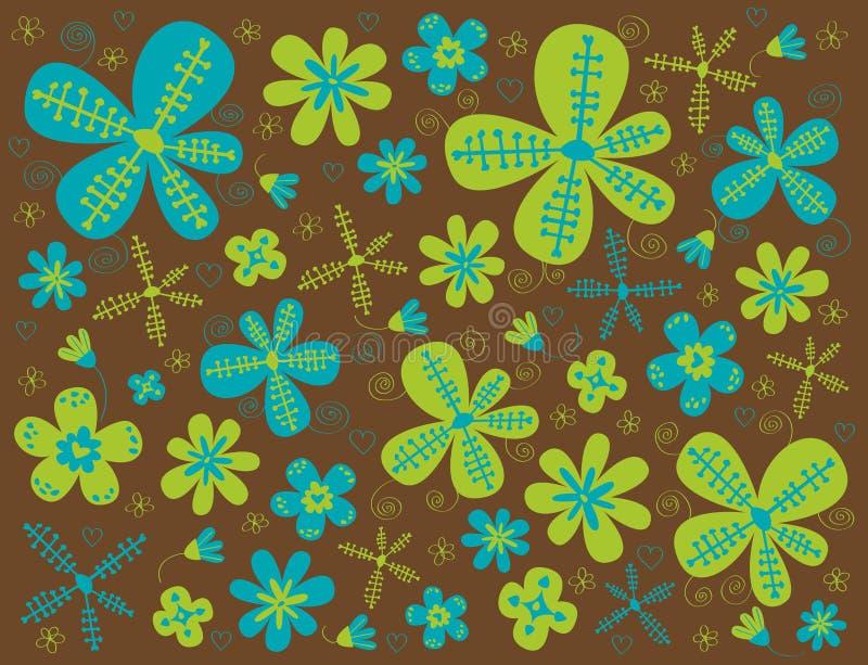 Textura de la flor libre illustration