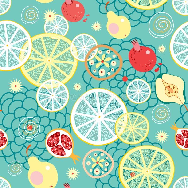Textura de la fruta libre illustration