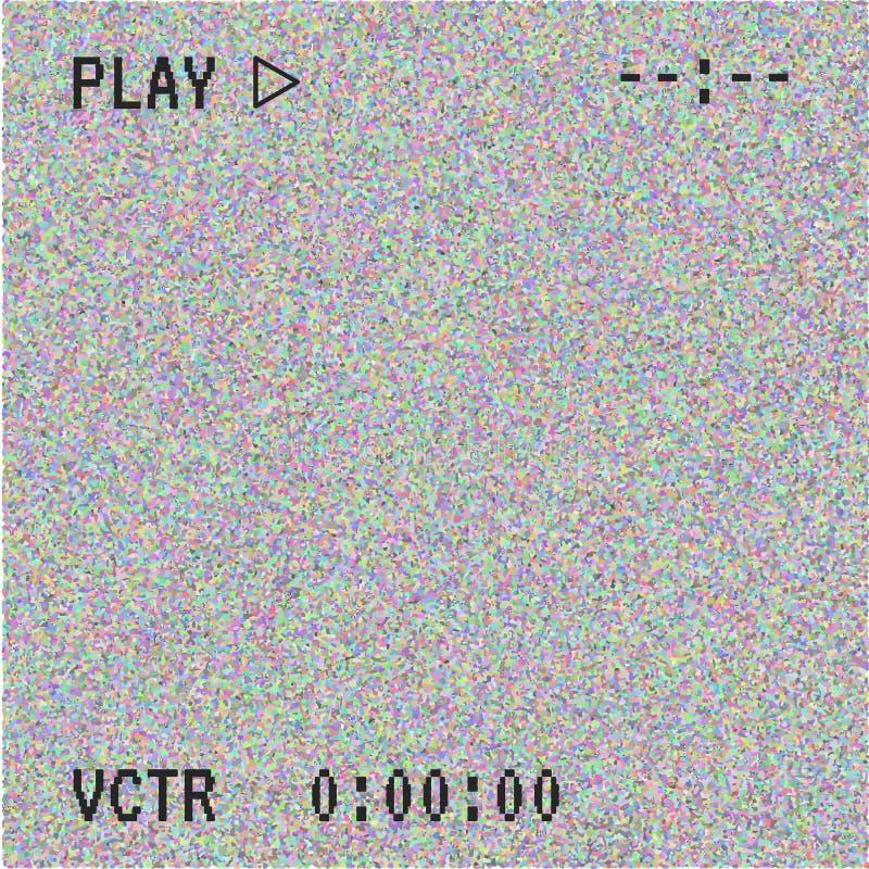 Textura de la interferencia del vector stock de ilustración