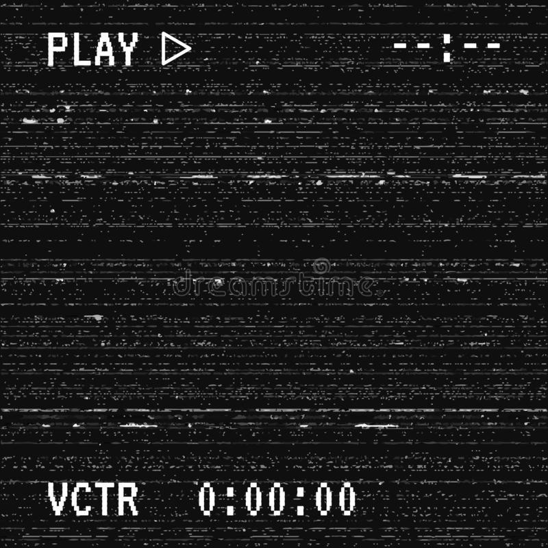 Textura de la interferencia del vector ilustración del vector