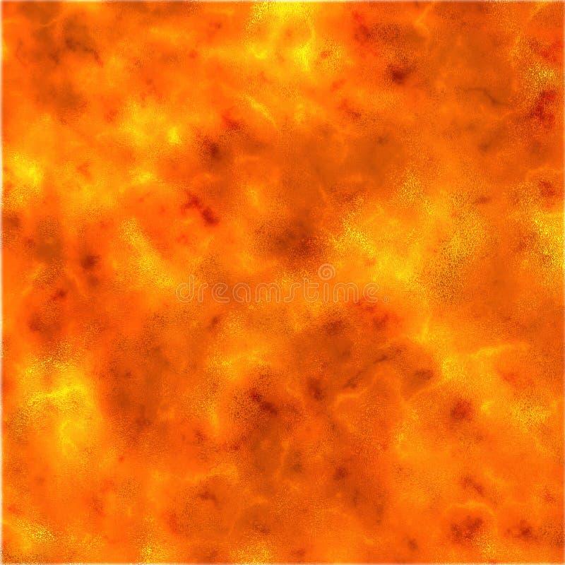 Textura de la lava stock de ilustración