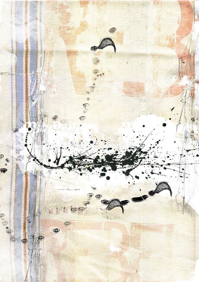 Textura de la lona libre illustration