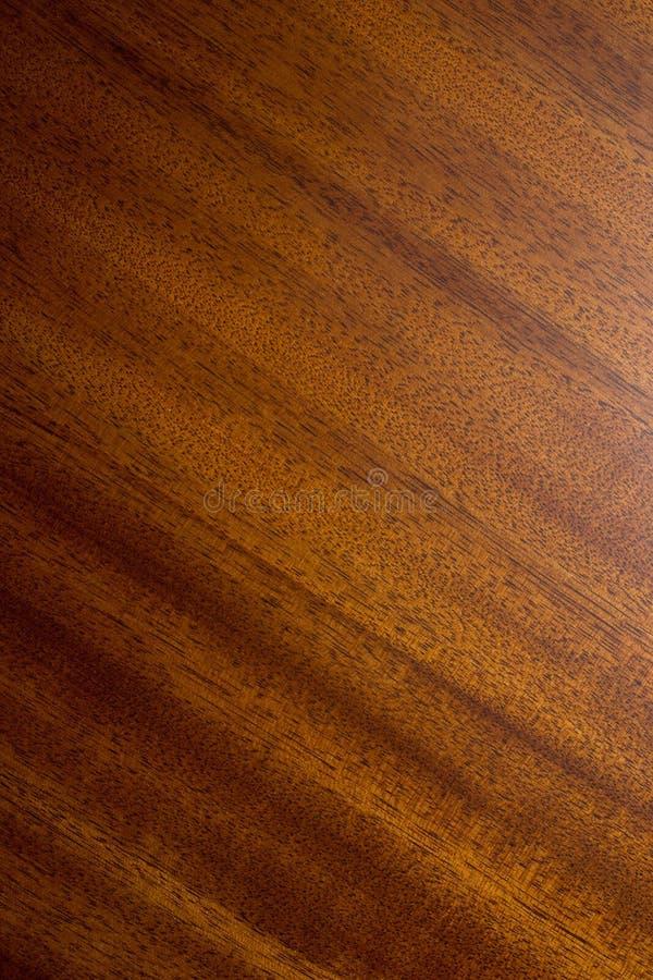 Textura de la madera de caoba imagen de archivo