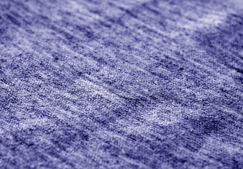 Textura de la materia textil con efecto de la falta de definición en tono azul imágenes de archivo libres de regalías