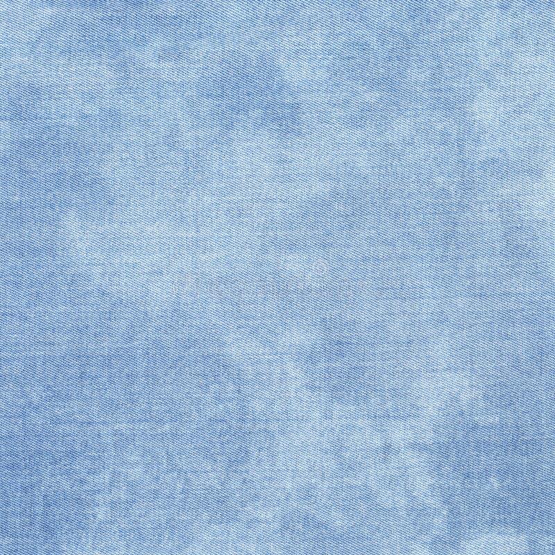 Textura de la materia textil Superficie creativa azul clara del dril de algodón del primer foto de archivo libre de regalías