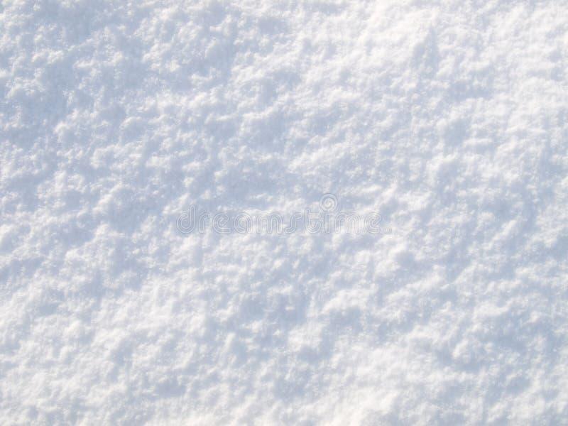 Textura de la nieve fotos de archivo
